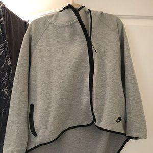 Women's Full-Zip Cape Nike Sportswear Tech Fleece